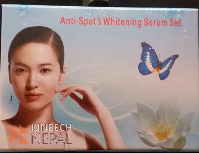 Anti Spot And Whitening Serum Set | www.kinbechnepal.com