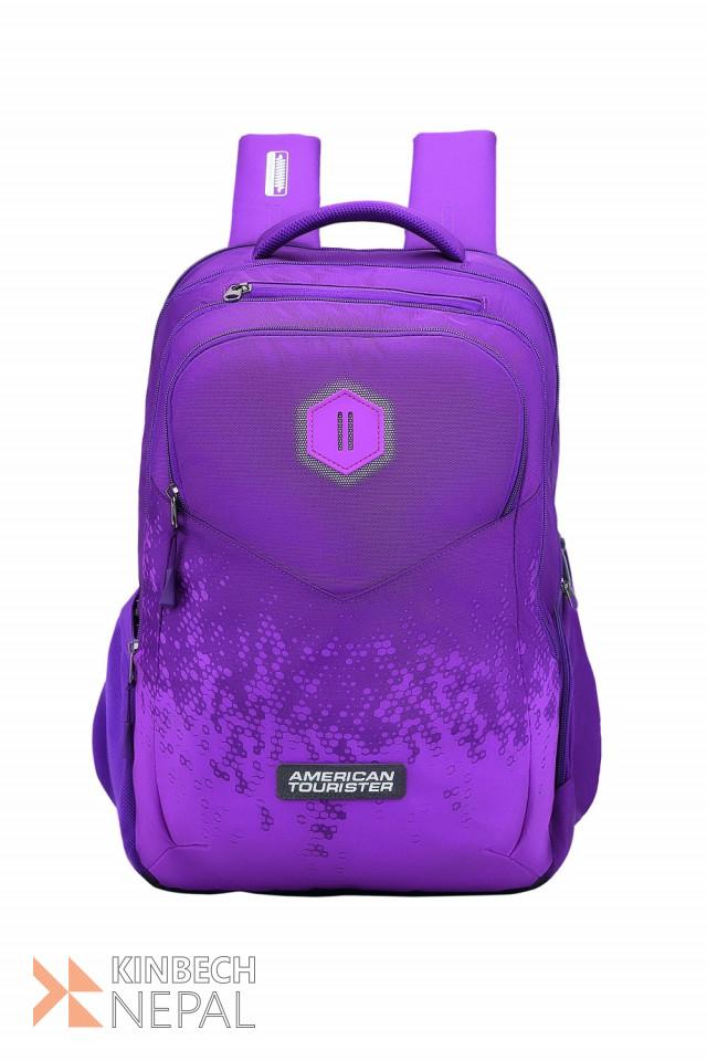 Laptop bag American Tourister INSTA +01 Magenta | www.kinbechnepal.com