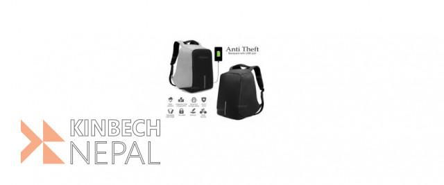 Anti Theft Bag | www.kinbechnepal.com