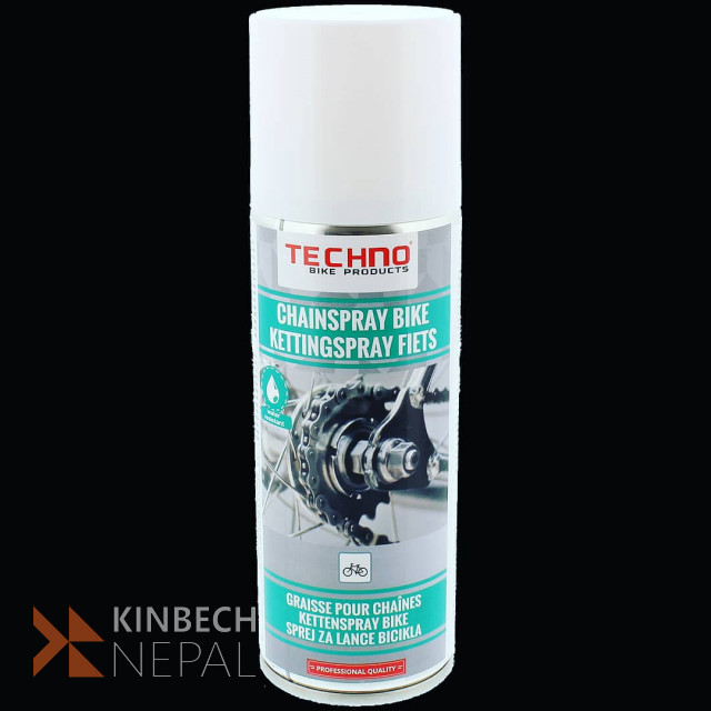 Techno Bicycle Chain Spray | www.kinbechnepal.com