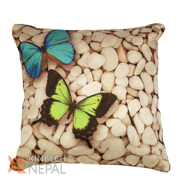 Digital Print Set Of 5 Cushion Cover - 16*16 Inch | www.kinbechnepal.com