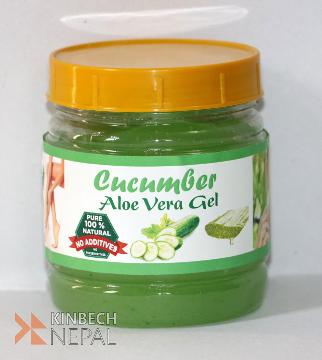 Cucumber Aloe Vera Gel | www.kinbechnepal.com