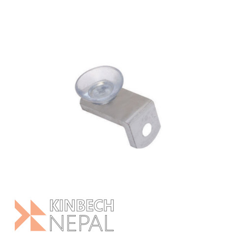 Self Bracket (Button) Stainless Steel With Vacuum By RV Plus | www.kinbechnepal.com