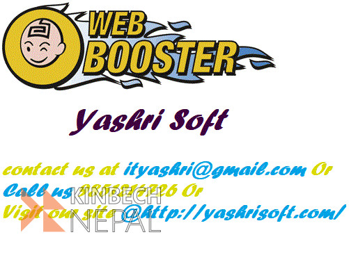 For Best Web Booster in Nepal | www.kinbechnepal.com