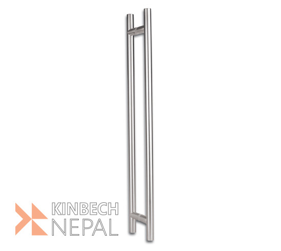 Door Handle set For Toughened Glass Heavy By RV Plus | www.kinbechnepal.com