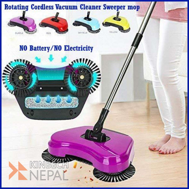 Cordless Vacuum Cleaner Sweeper Mop | www.kinbechnepal.com