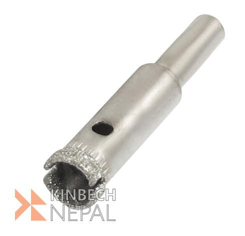 Glass Drill Bit 8mm Diamond Tipped Hole Saw By RV plus | www.kinbechnepal.com