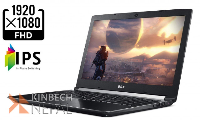 ACER Aspire 7 8th Gen Core i5-8300H GeForce GTX 1050 4GB Gaming  Laptop | www.kinbechnepal.com