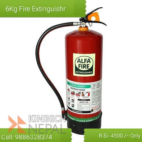 6 kg Fire Extinguisher | www.kinbechnepal.com
