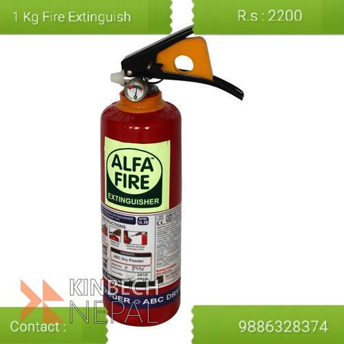 1 kg Fire Extinguisher | www.kinbechnepal.com