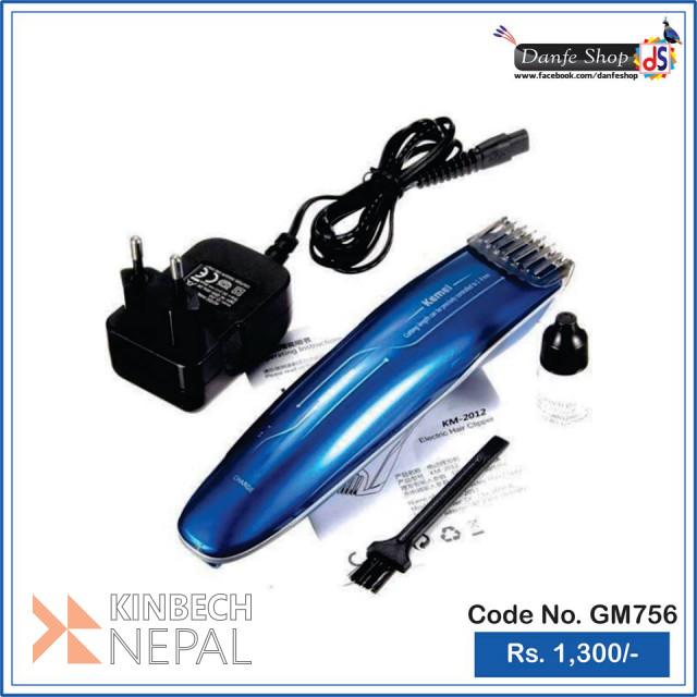 Gemei GM-756 Hair Trimmer   www.kinbechnepal.com