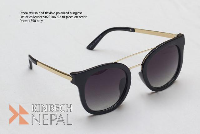 Prada Stylish and Flexible Ladies Sunglasses (Polarized) | www.kinbechnepal.com