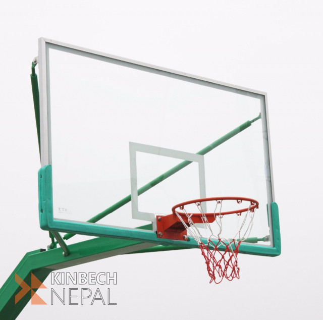 Basketball Glass Backboard   www.kinbechnepal.com
