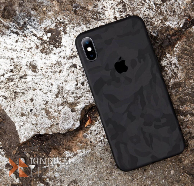 Dbrand iPhone X Camoflague Skin   www.kinbechnepal.com