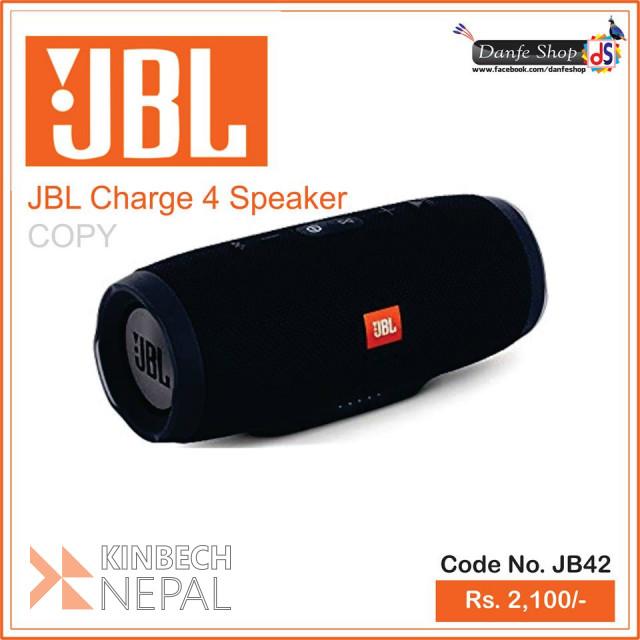 JBL Charge 4 🔊 Speaker For Sale | www.kinbechnepal.com