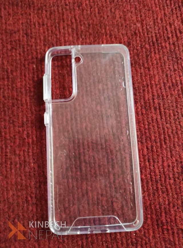 Clear Transparent Hard Cover Samsung S21 Plus | www.kinbechnepal.com