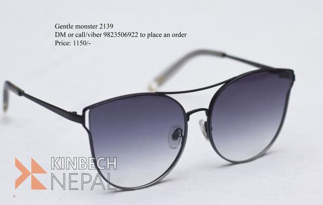Gentle Monster 2139 Sunglasses | www.kinbechnepal.com