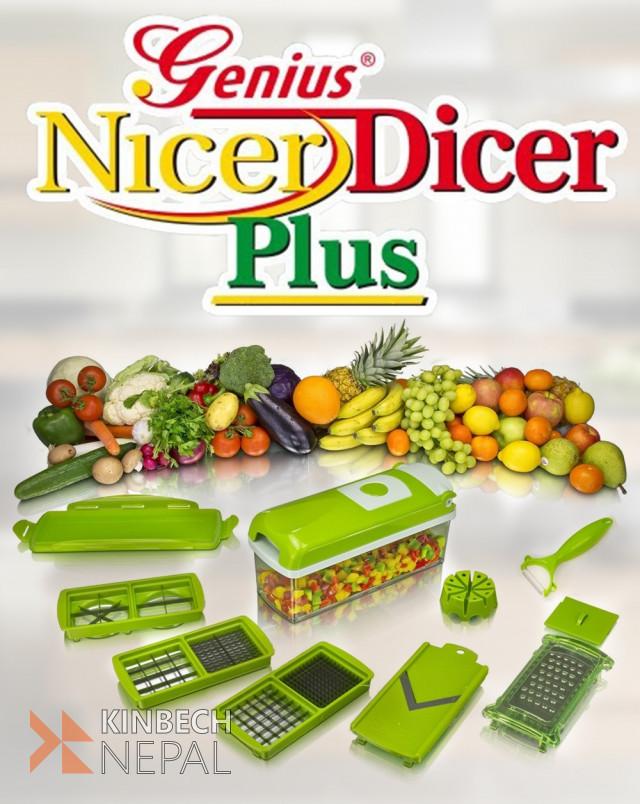 Nicer Dicer Plus | www.kinbechnepal.com