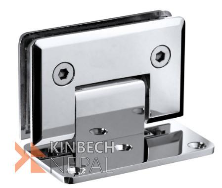 Shower Hinge / Bathroom Glass Clamp RV Plus 90 Degree   www.kinbechnepal.com