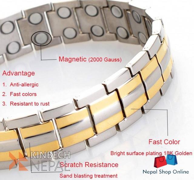 Bio-magnetic Bracelet | www.kinbechnepal.com