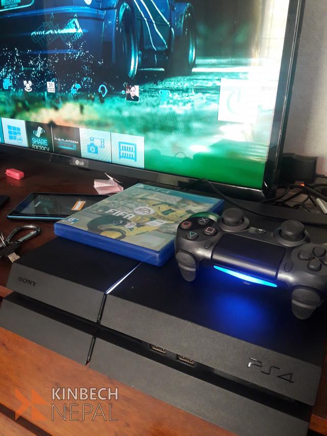 PS4 with FIFA 18 | www.kinbechnepal.com