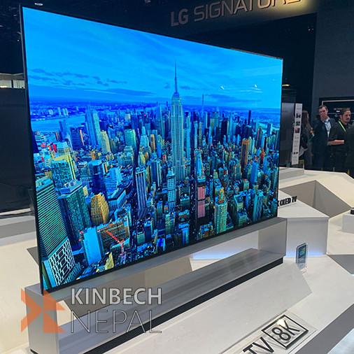 LG  SIGNATURE Z9 88 inch Class 8K Smart OLED TV ThinQ OLED 8K TV   www.kinbechnepal.com