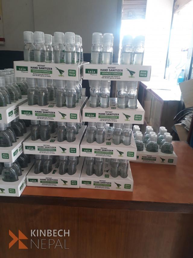 sanitizer wholesale and retail 9869389477 | www.kinbechnepal.com