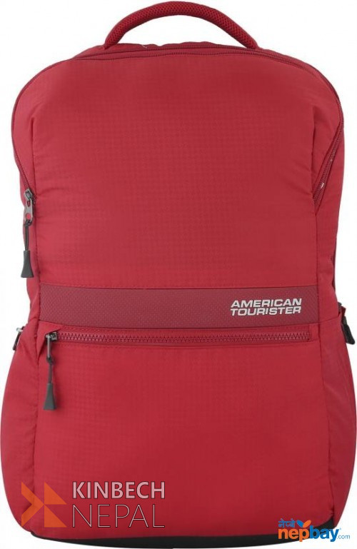 Laptop bag American Tourister INSTA +02 RED | www.kinbechnepal.com