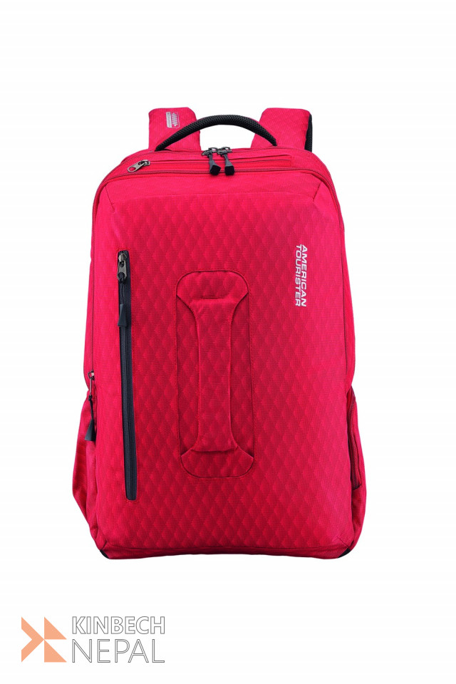 Laptop bag American Tourister ACRO +02 RED | www.kinbechnepal.com