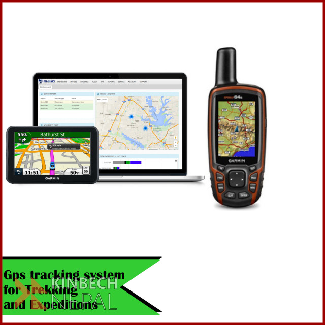 GPS Tracking System for Trekking  and Expeditions | www.kinbechnepal.com