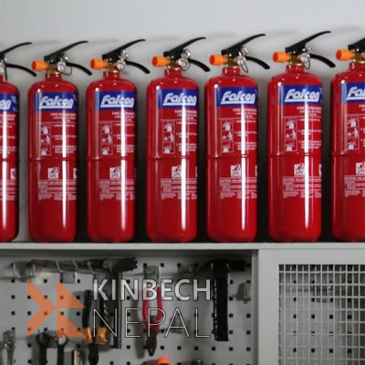 Fire Extinguisher' Refilling @ Maintenance | www.kinbechnepal.com
