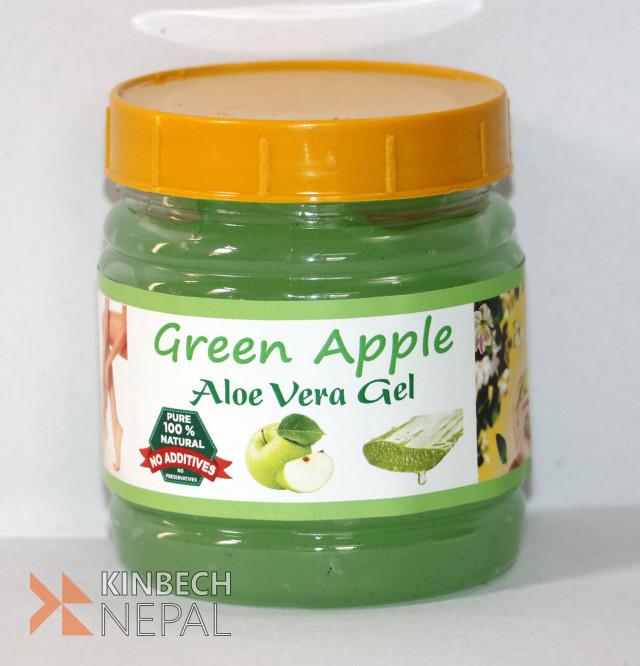 Green Apple Aloe Vera Gel | www.kinbechnepal.com