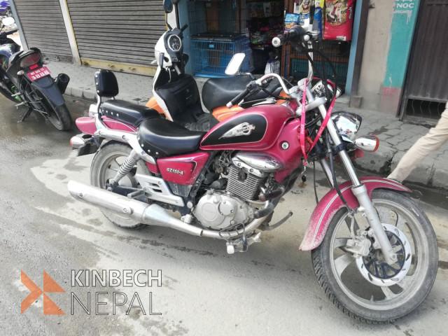 Suzuki GZ150(Cruiser motorbike) | www.kinbechnepal.com