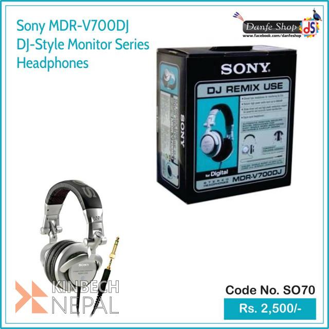 Sony MDR-V700DJ DJ-Style Monitor Series Headphones | www.kinbechnepal.com