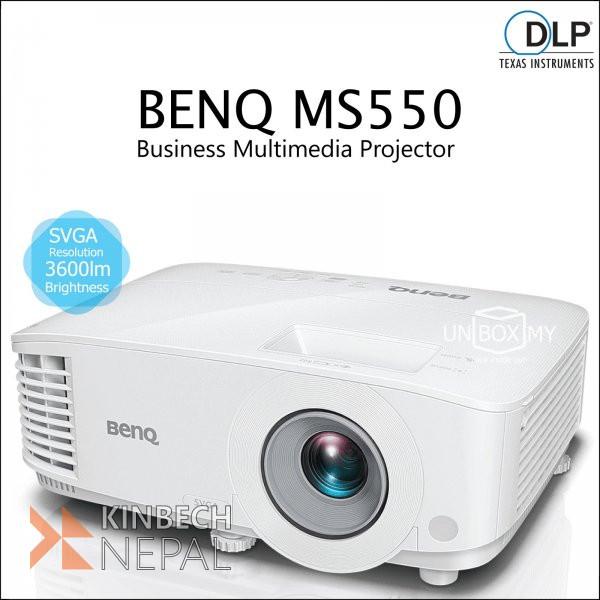 Projector Svga Benq Ms550 | www.kinbechnepal.com