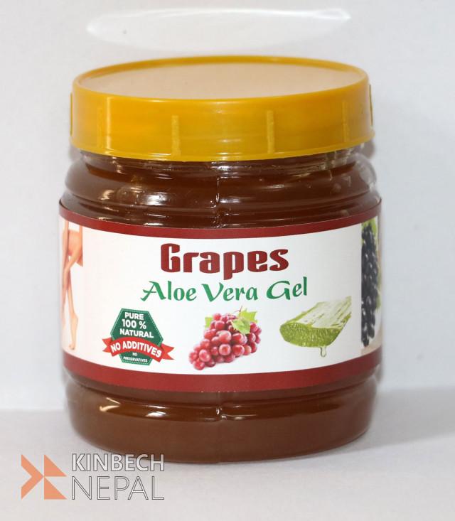 Grapes Aloe Vera Gel | www.kinbechnepal.com