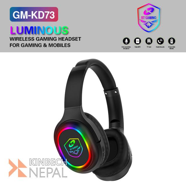 GM-KD73/71 wireless bluetooth headphone | www.kinbechnepal.com