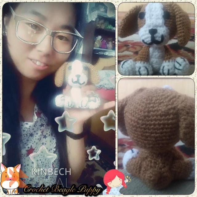 Crochet Beagle Puppy | www.kinbechnepal.com
