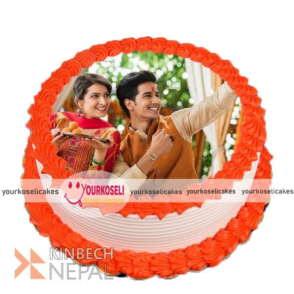 Raksha Bandhan Cakes in Nepal | www.kinbechnepal.com