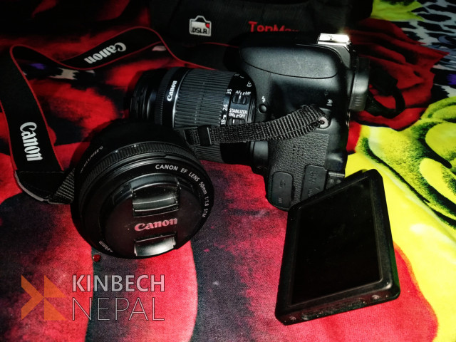 Canon EOS 750D With Two Lenses | www.kinbechnepal.com