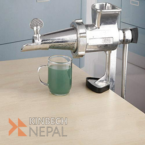 2 in 1 Hand Operated Wheatgrass Juicer & Meat Grinder | www.kinbechnepal.com
