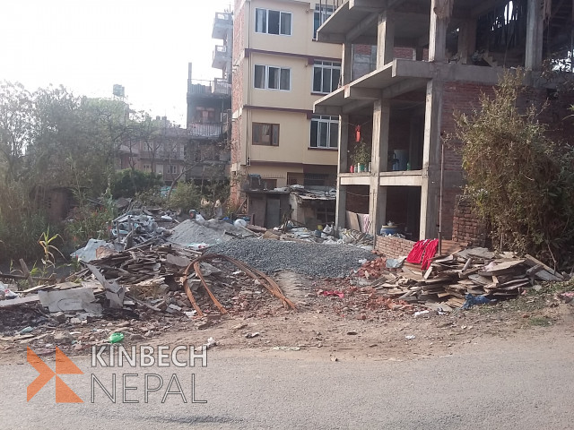 4 Aana Land in Kirtipur For Sale | www.kinbechnepal.com
