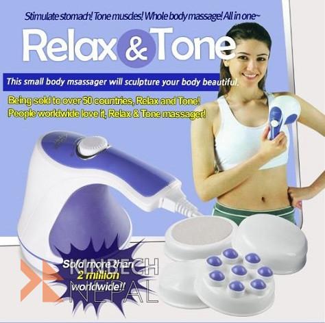 Relax & Spin Tone Massager   www.kinbechnepal.com