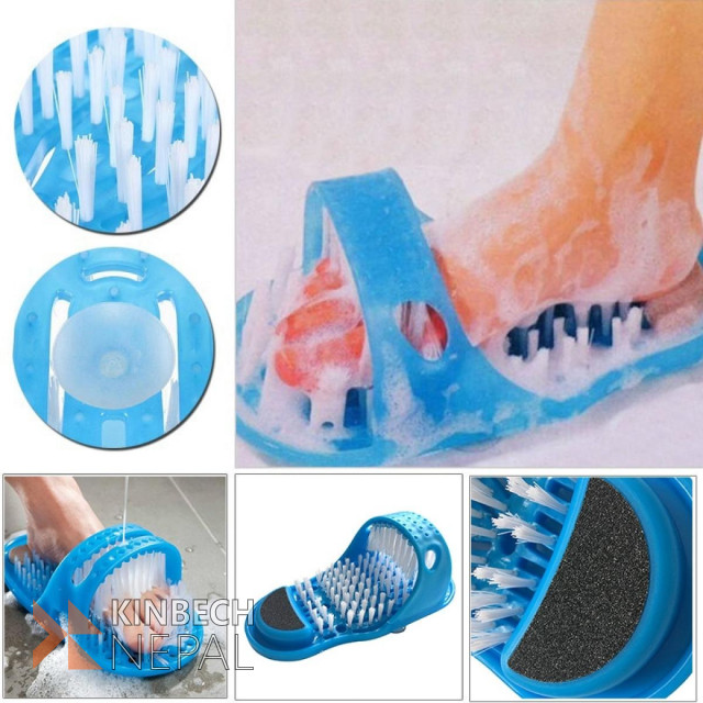 Waterproof Easy Foot Cleaner Slipper | www.kinbechnepal.com
