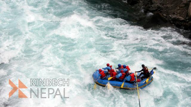 Bhote Koshi River Rafting- 1 Day   www.kinbechnepal.com