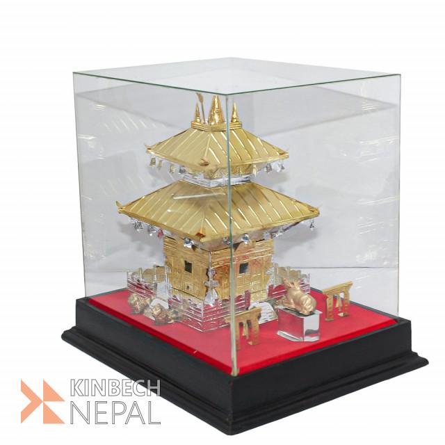 Metal Pashupati Temple Replica No.4 | www.kinbechnepal.com