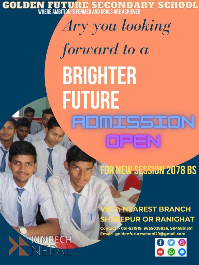 GOLDEN FUTURE HIGHER SECONDARY SCHOOL   www.kinbechnepal.com
