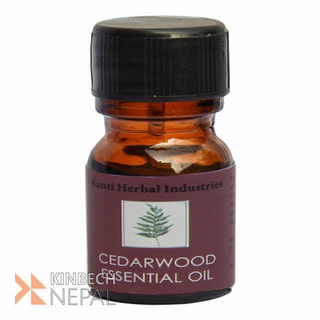 Cedarwood Essential Oil | www.kinbechnepal.com
