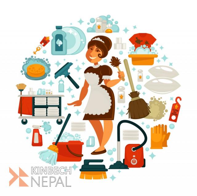 HouseMaid Service in Kathmandu, Bhaktapur & Lalitpur. | www.kinbechnepal.com