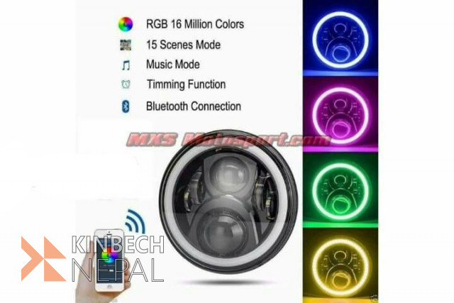 Bluetooth headlight | www.kinbechnepal.com